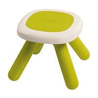 Стульчик без спинки детский зеленый Smoby 880205