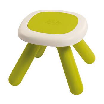 Стілець без спинки дитячий зелений Smoby 880205