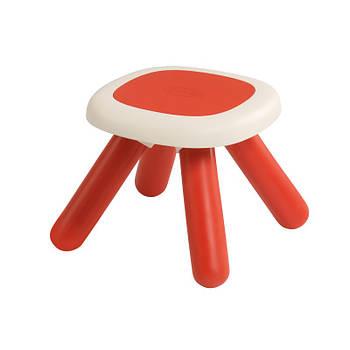 Стілець без спинки дитячий червоний Smoby 880203