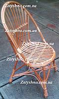 Кресло стуло из лозы яйцо круглое