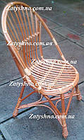Кресло стуло из лозы  круглое