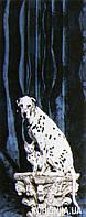 Фотообои на плотной полуглянцевой бумаге для стен 97*220 см : Собака и кошка. Komar 2-1261