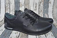 Туфли мужские, кожаные, полу спорт Olimp