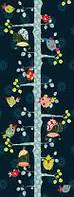 Фотообои на плотной полуглянцевой бумаге для стен 92*220 см : Дерево. Komar 2-1715