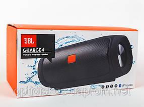 Bluetooth портативная колонка Charge 4, бирюзовая, фото 3