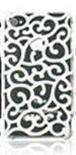 Вензельный белый чехол для iphone 5/5S