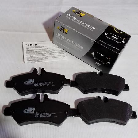 Комплект Тормозных колодок Volkswagen Crafter VW Крафтер (2006-) 0044206920. Задние. ROADHOUSE Испания