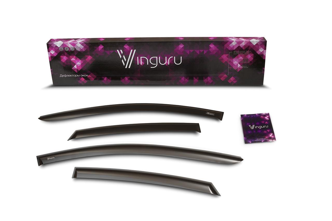 Дефлектори вікон вітровики на MITSUBISHI Мітсубісі Galant VIII 1996-2003 сед