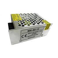 Блок питания 5А 60W 12V COMPACT негерметичный