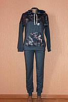Женский спортивный костюм трикотажный р-ры 48-56