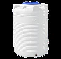 Емкость однослойная вертикальная R.EURO PLAST RVО 500 (80х119), даметр люка 35 см, штуцер 1/2''