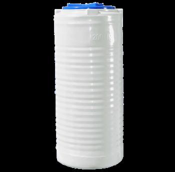 Емкость однослойная вертикальная узкая R.EURO PLAST RVО 1000 У (80х225), даметр люка 35 см, штуцер 1/2''