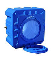 Емкость квадратная (КУБ) двухслойная R.EURO PLAST RKД 200 Куб (70х70х56), даметр люка 35 см, штуцер 1/2''