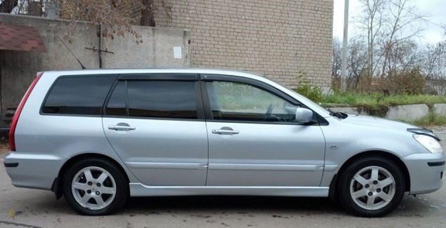 Дефлектори вікон вітровики на MITSUBISHI Мітсубісі LANCER wagon 2003-2006