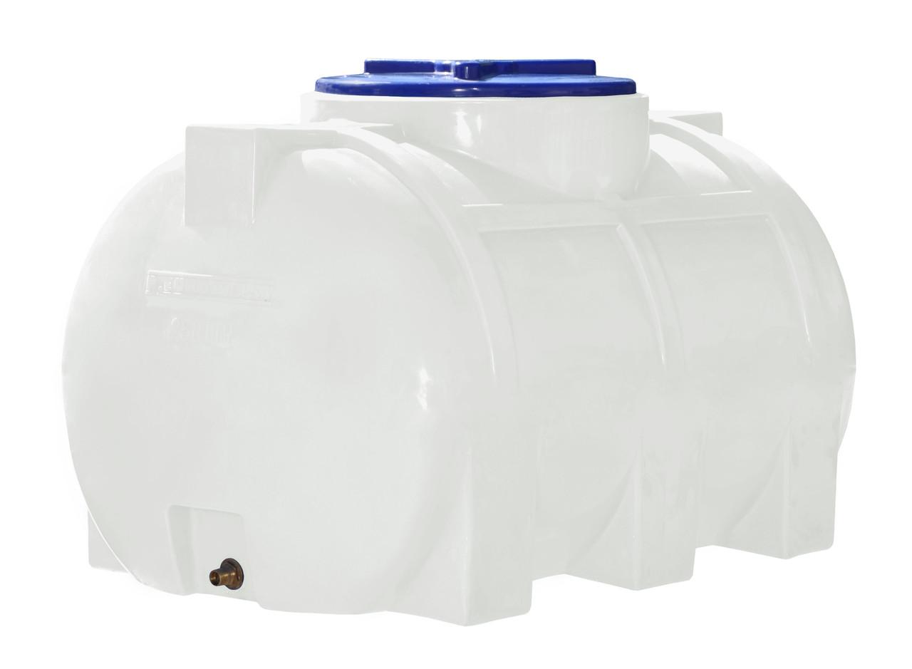 Емкость однослойная горизонтальная R.EURO PLAST RGО 250 (93х62х64), даметр люка 35 см, штуцер 1/2''
