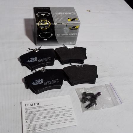 Комплект Тормозных колодок Opel Vivaro Опель Виваро (2001-) 7701054772. Задние. ROADHOUSE Испания