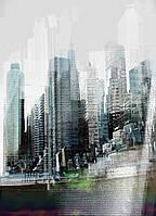Фотообои на плотной полуглянцевой бумаге для стен 184x254 см. Небоскребы. Komar 4-202