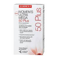 Витамины и минералы для женщин GNC WOMEN'S ULTRA MEGA 50+ (60 caps)
