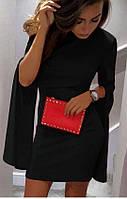 Трендовое стильное платье-футляр  с разрезами на рукавах Ebigail