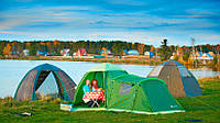 Летняя туристическая палатка Лотос 3 Саммер (комплект)