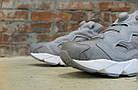 Женские кроссовки Reebok Instapump Fury Grey/White (в стиле Рибок Инста Памп) серые, фото 3