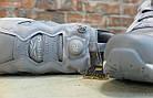 Женские кроссовки Reebok Instapump Fury Grey/White (в стиле Рибок Инста Памп) серые, фото 6