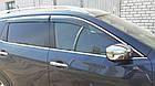 Дефлектори вікон вітровики на NISSAN Ніссан X-Trail 2007-2013 H0800JH100, фото 2