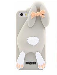 Чехол серый зайчик iphone 5/5S Moschino
