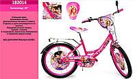 """Детский двухколесный велосипед Barbie 182014 (Барби) 20"""""""