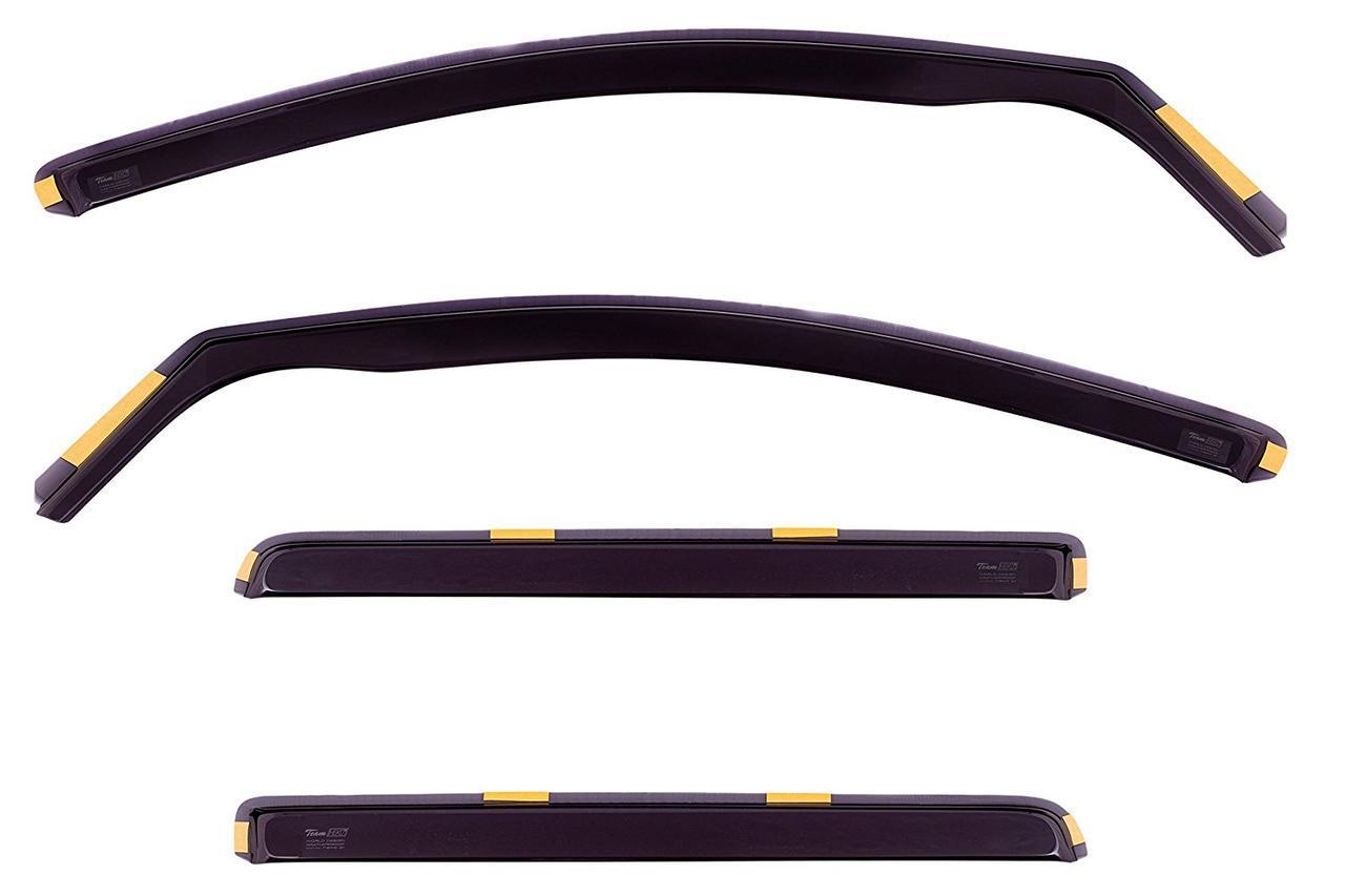 Дефлекторы окон ветровики на OPEL Опель Astra H 2004-2009 5D вставные 4шт Combi