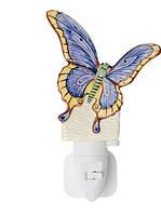 Фарфоровый ночник (светильник) Бабочка Pavone JP-18/13