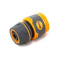 Коннектор Presto-PS для шланга 1/2-5/8 дюйма без аквастопа серия Soft-Touch, в упаковке - 25 шт. (5809E)