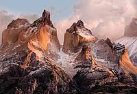 Фотообои на плотной полуглянцевой бумаге для стен 254 х 184 см. Природа. Чилийские горы. Komar 4-530