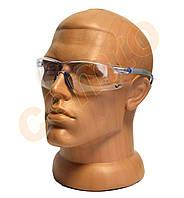 Окуляри захисні прозорі на дужках, фото 1