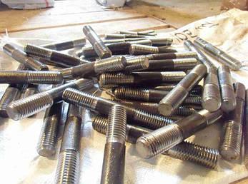 Шпилька М14 ГОСТ 22040-76, ГОСТ 22041-76, DIN 940 с ввинчиваемым концом длиной 2,5d, фото 2