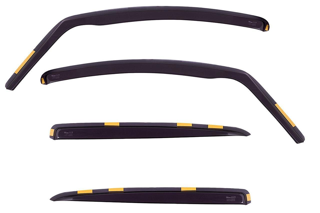 Дефлекторы окон ветровики на PEUGEOT Пежо 207 5D 2006-> 4шт Hatchback