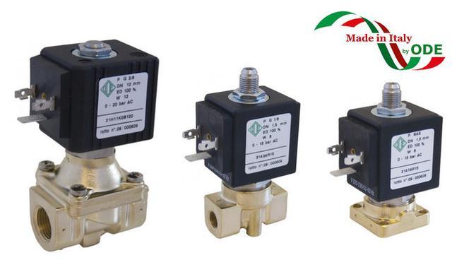 Электромагнитный клапан для воздуха ODE (Italy)