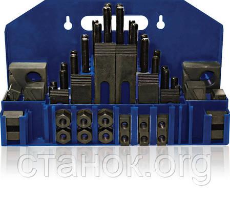 Набор прихватов SPW 8 10 12 14 16 для фрезерного стола зажимные приспособления, фото 2