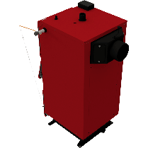 Твердотопливный котел ALtep DUO PLUS 31 кВт, фото 2