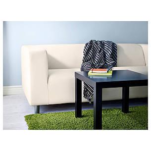 ХАМПЭН Ковер, длинный ворс, ярко-зеленый, 133x195 см 70203768 IKEA, ИКЕА, HAMPEN, фото 2