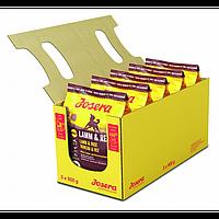 Josera Lamb and Rice корм для собак всех пород с ягненком и рисом, гипоалергенный. Упаковка 4.5 кг