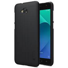 Чехол накладка Nillkin Super Frosted для Asus Zenfone 4 Selfie ZD553KL черный