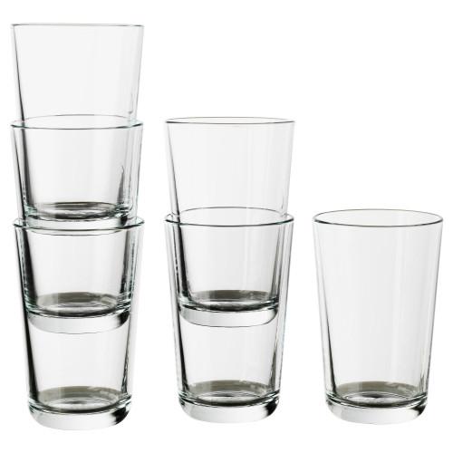 ИКЕА/365+ Стакан, прозрачное стекло, 300 мл 70278358 IKEA, ИКЕА, IKEA
