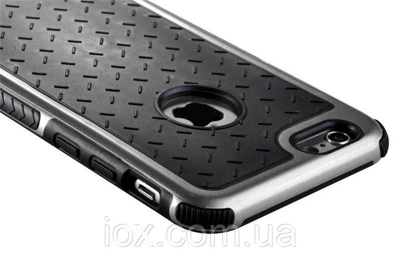 Ультратонкий ударопрочный комбинированный чехол для Apple iPhone 5\5S
