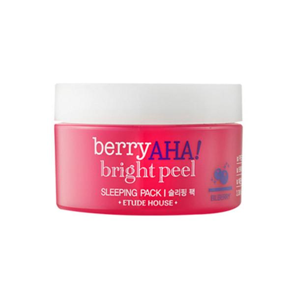Ночная маска с эффектом пилинга с АНА-кислотами ETUDE HOUSE Berry AHA Bright Peel Sleeping Pack