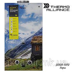 Колонка газовая Thermo Alliance JSD20-10F2 10 л стекло (горы)