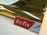 Самоклейка, d-c-fix, 45 cm Пленка самоклеящая, металлизированная, золотая, глянцевая