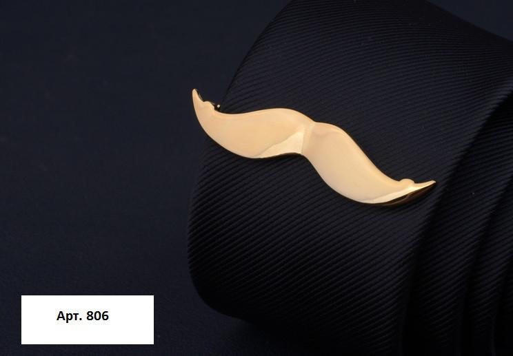 Затиск для краватки Вусики