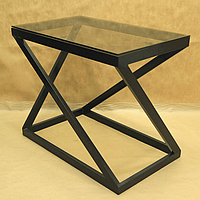 Стол журнальный металлический Лофт, фото 1