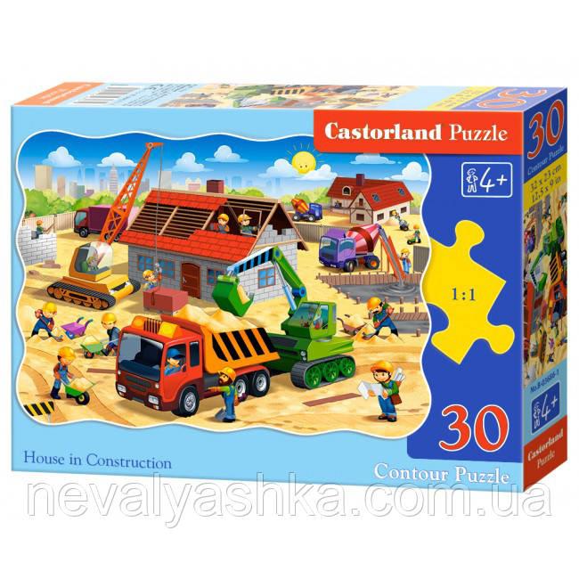 Пазл Castorland Строительство дома 30 эл., В-03686, 006885